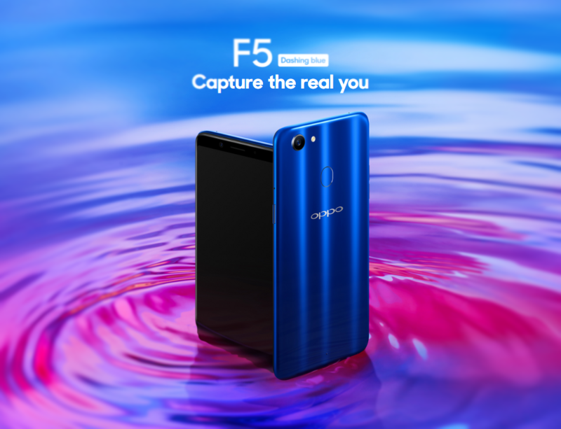 OPPO F5 Dashing Blue Limited Special