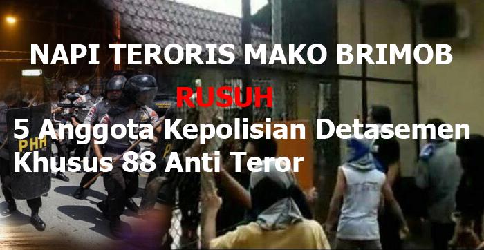 Napi Terorisme Rakit Bom Selama Penyanderaan