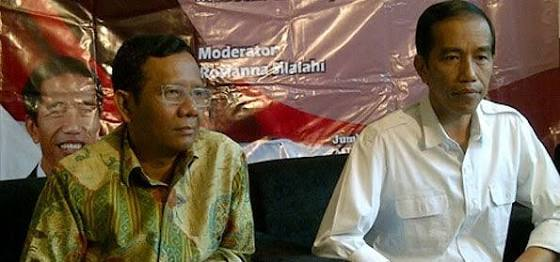 Presiden RI Joko Widido bersama Mahfud Md. Int
